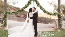 Lauren + Brent's Rustic Ranch Wedding