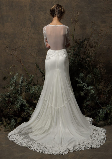 Olga-ace-wedding-dress-with-long-sleeves-crochet-boho-detailing