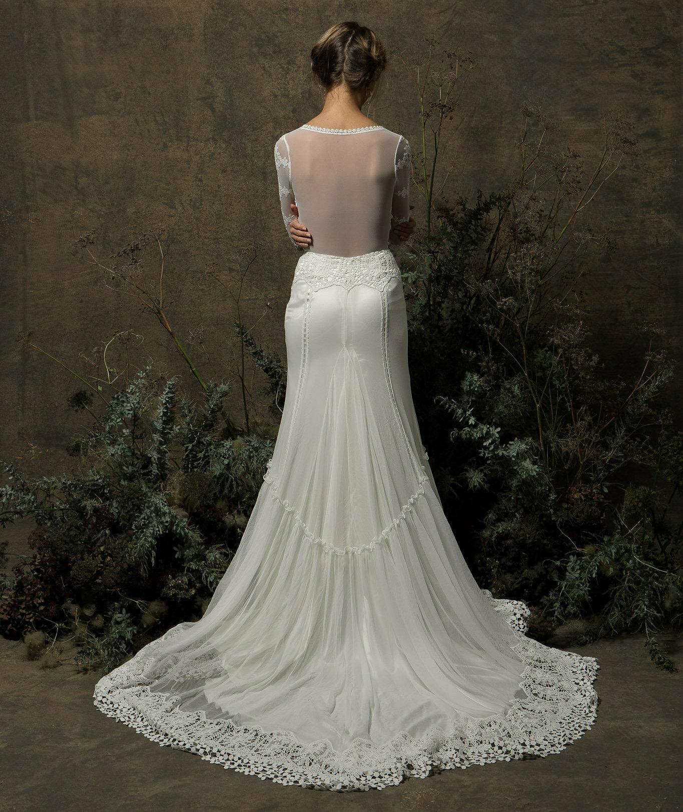 Olga-ace-wedding-dress-with-long-sleeves-crochet-boho-detailing