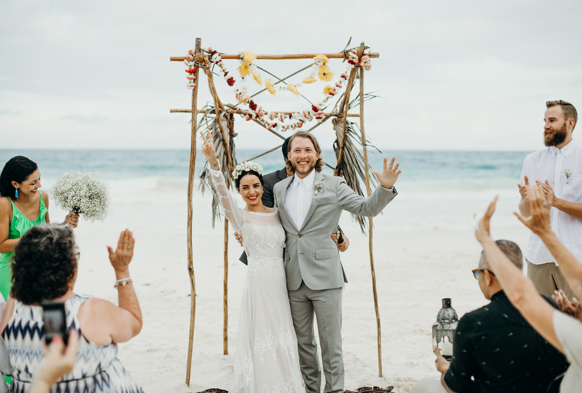 beach-wedding-inspiration-from-carolina-and-nate's-tulum-wedding