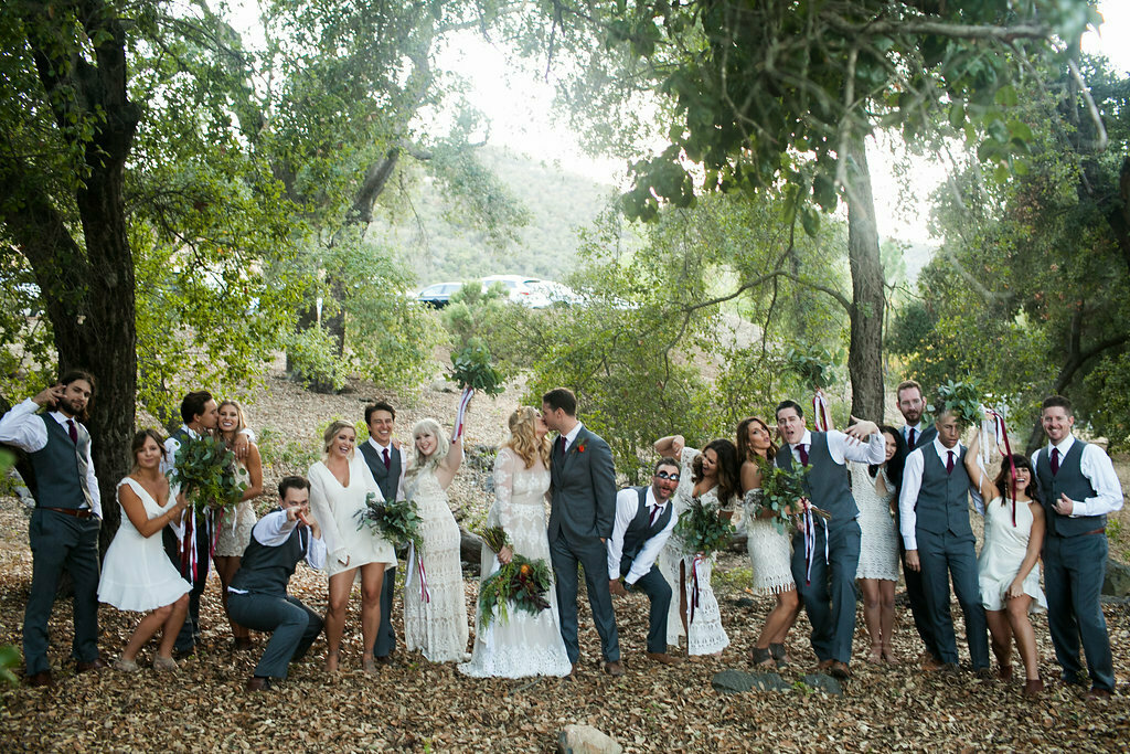 the-bridal-party-at-this-bohemian-wedding-at-the-highlands-ranch-venue-in-California