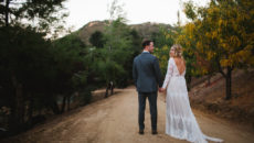 A Dreamy Bohemian California Ranch Wedding