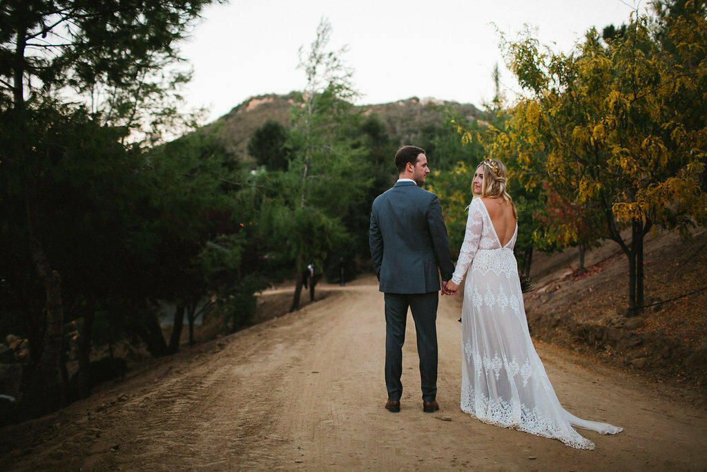 A Dreamy Bohemian California Ranch Wedding