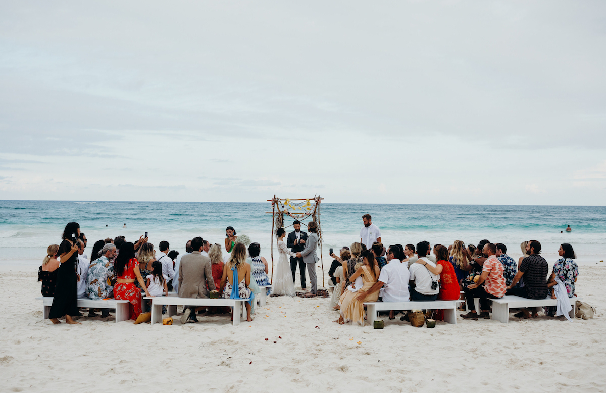 tulum-beach-wedding-dreamy-bohemian-ceremony-altar