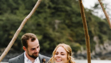 Kara + Devin's Tiny Tofino Wedding