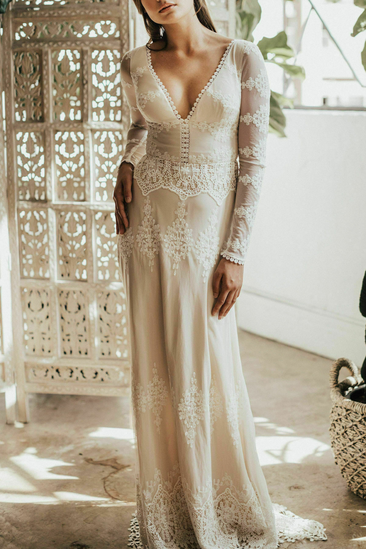 Julia Lace Gown