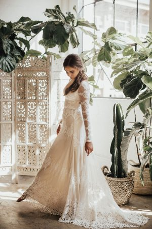 Julia-long-sleeve-low-cut-v-front-and-back-lace-wedding-dress