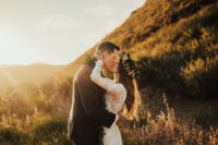 Photographer-Tessa-Tadlock-captures-the-adventurous-bohemian-couple-here-in-the-dreamiest-of-photo-bride-wearing-the-aurora-boho-lace-wedding-dress