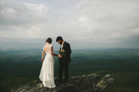 inspiration-for-the-adventurous-bride-considering-getting-eloped-on-top-of-a-mountain-while-wearing-the-prettiest-boho-simple-lace-dress