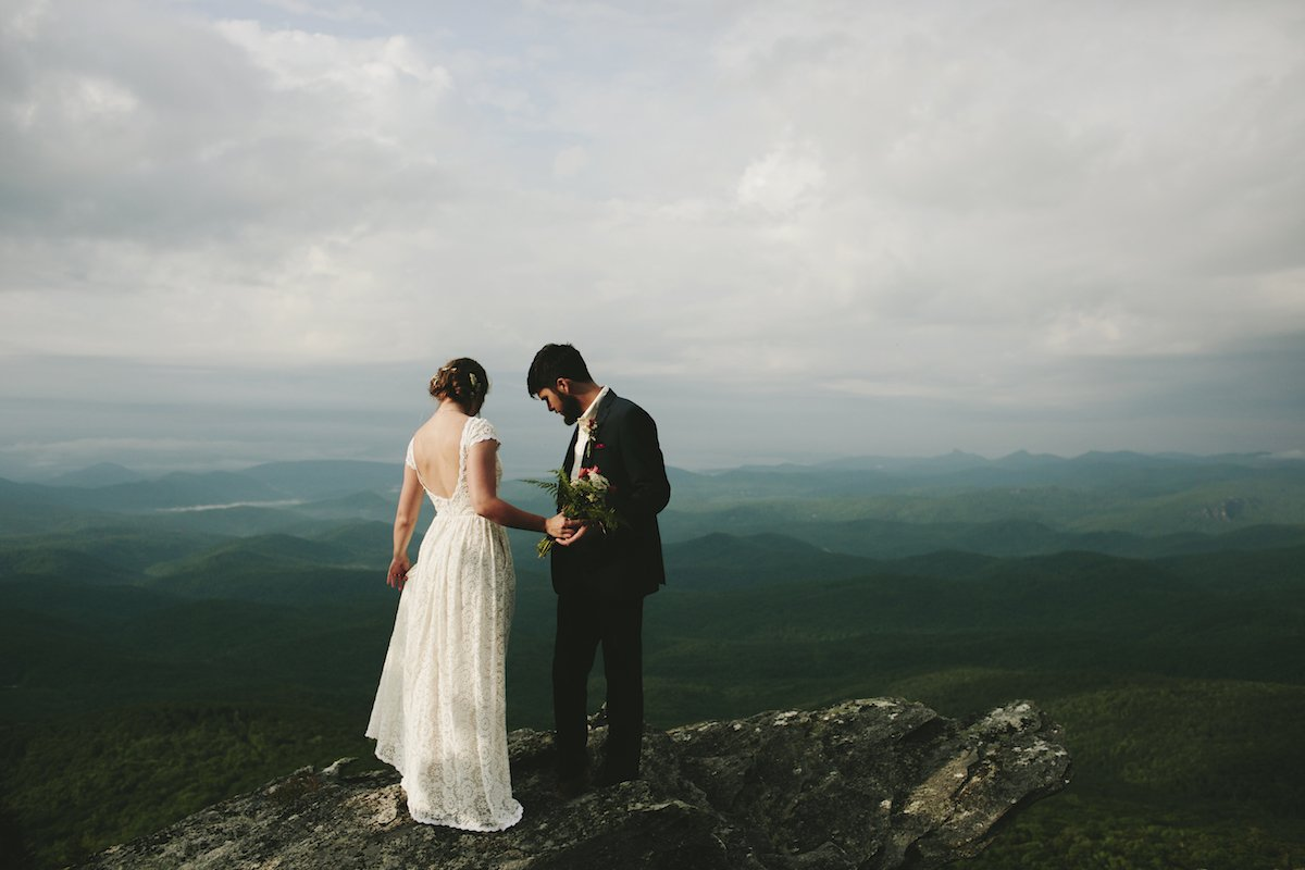 Shay + Tony's Elopement Wedding