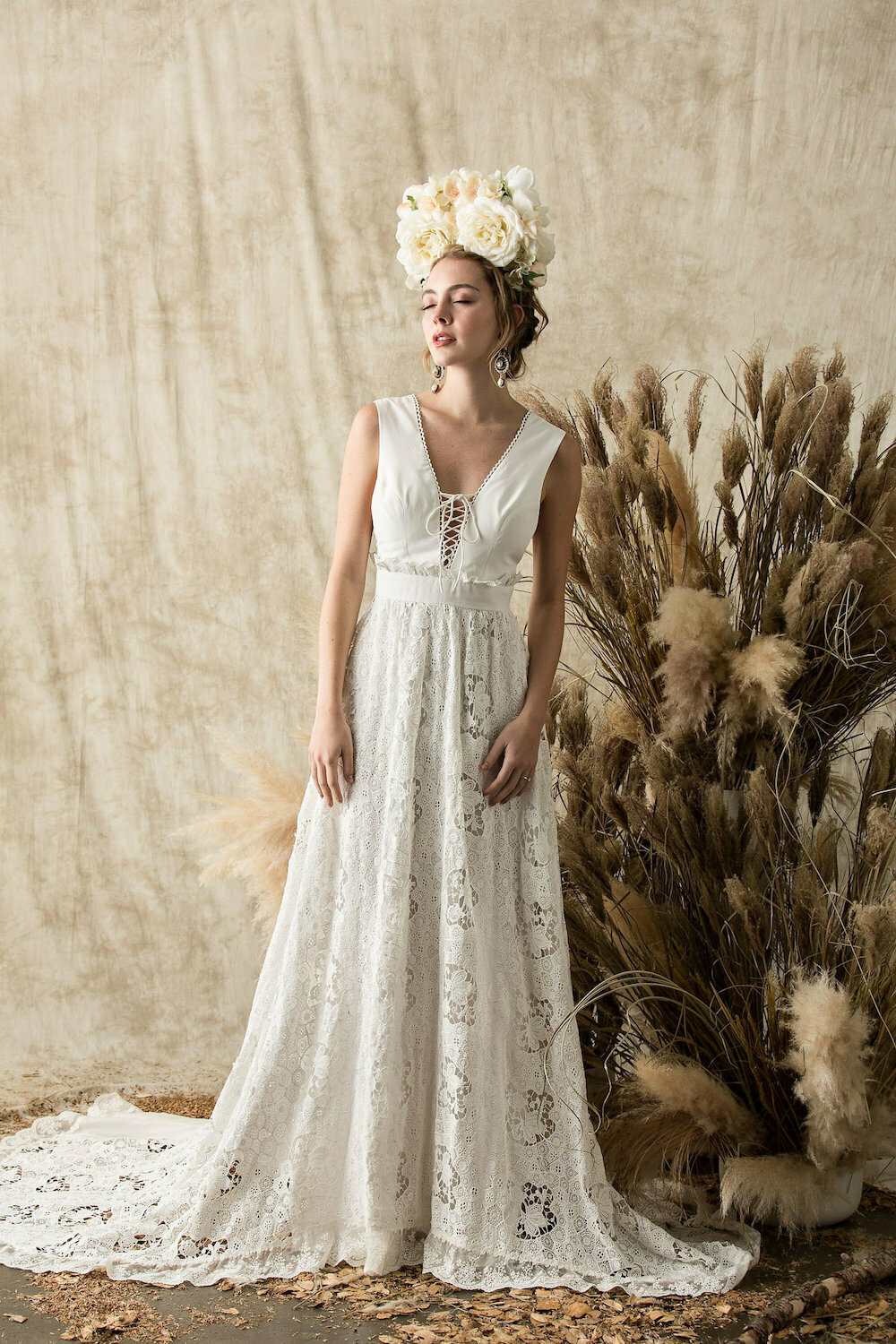 dreamers-and-lovers-silk-crochet-lace-gypsy-bohemian-wedding-dress-with-ruffle