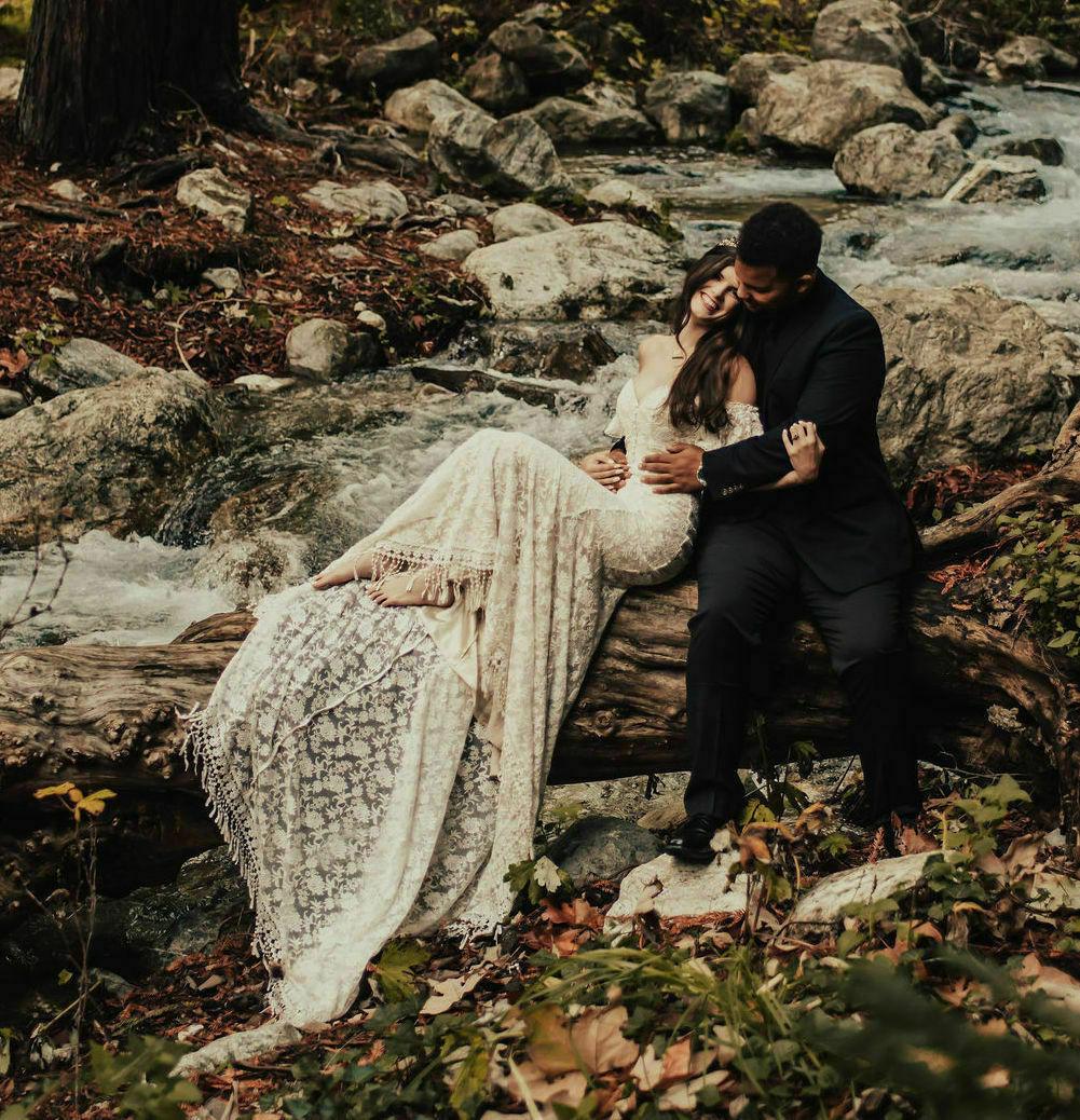 callista-lace-boho-wedding-gown-long-fringed-tassel-train