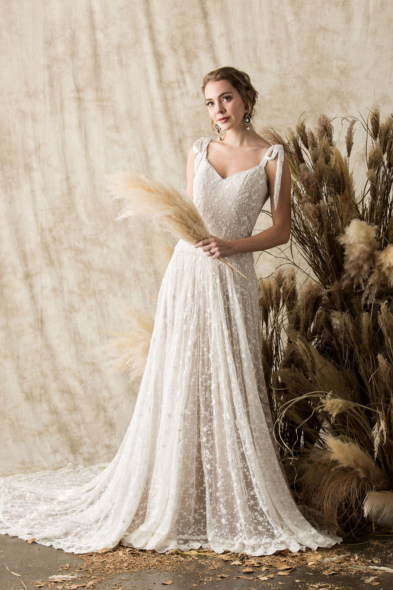 Evangeline Lace Wedding Dress Final