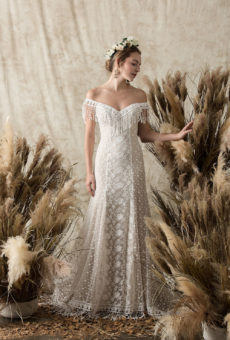 Bohemian wedding dresses hippie wedding dresses dreamers and heather fringe lace dress junglespirit Choice Image