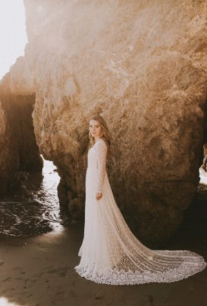 long-sleeves-dotted-lace-simple-wedding-dress-with-boho-crochet-hem-long-sleeves-low-open-back