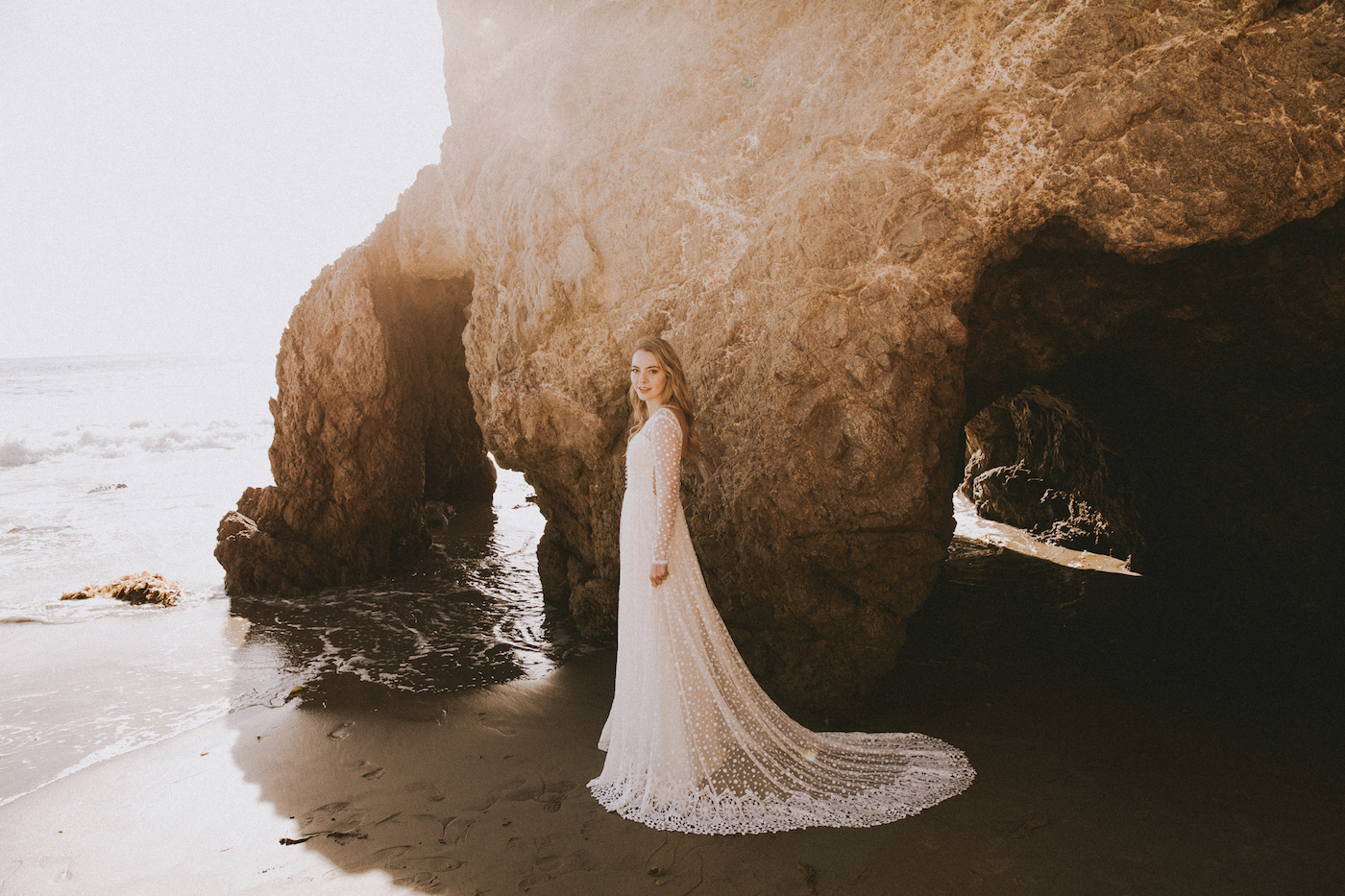 Miranda Long Sleeve Lace Wedding Dress Dreamers And Lovers