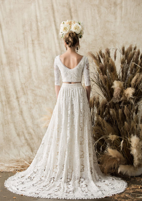 two-piece-cotton-lace-hippie-boho-chic-wedding-dress