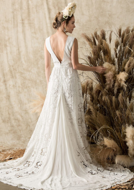 back-view-of-the-dreamy-elysia-backless-delicate-boho-wedding-dress