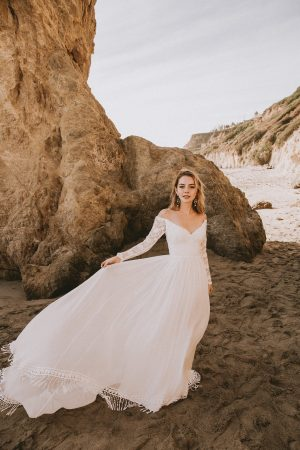 off-shoulder-long-sleeves-silk-lace-dreamy-wedding-dress-made-to-measure