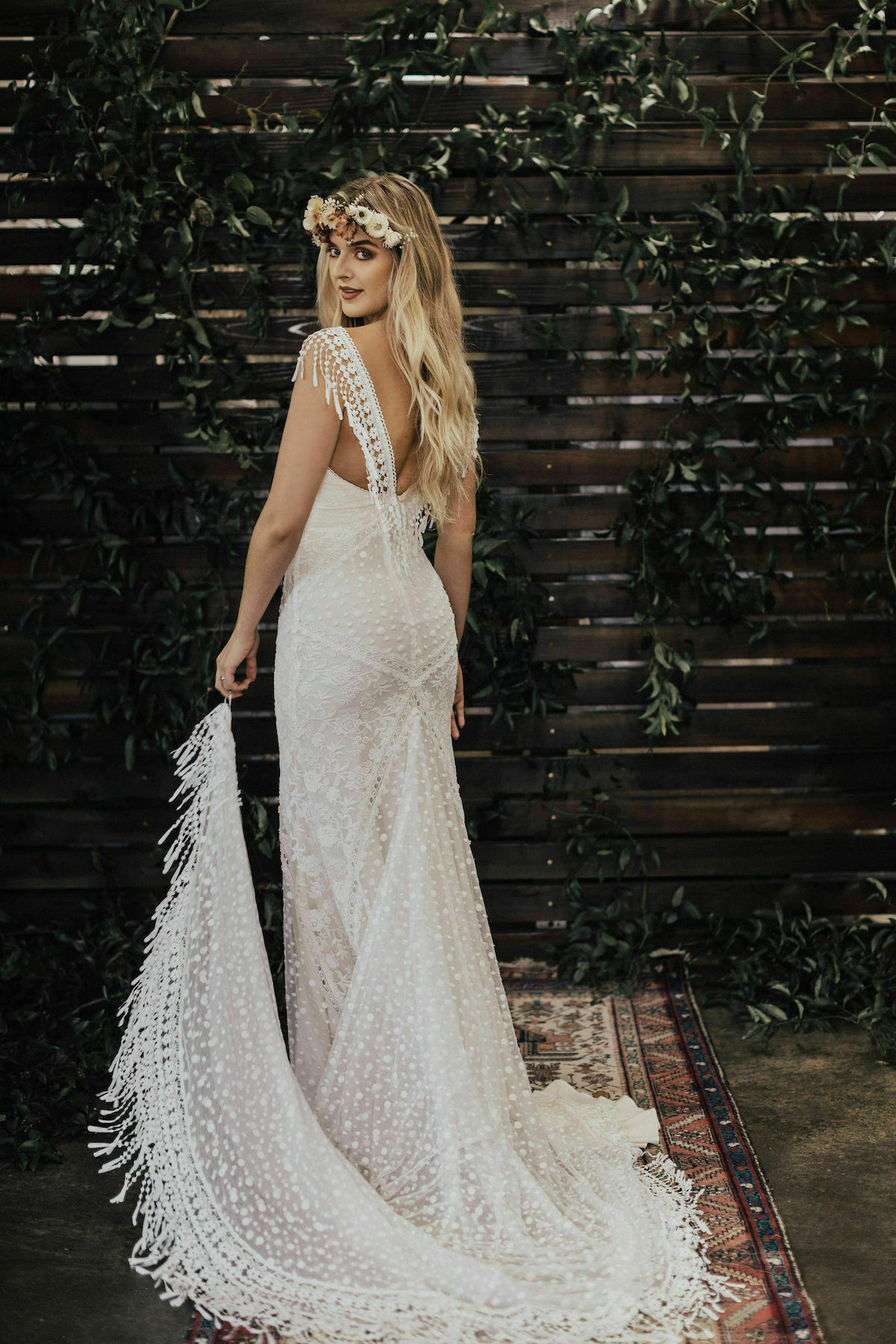 Dreamers-and-Lovers-Jenny-Fringe-Floral-Dotted-Multidimensional-Boho-ace-Wedding-Dress
