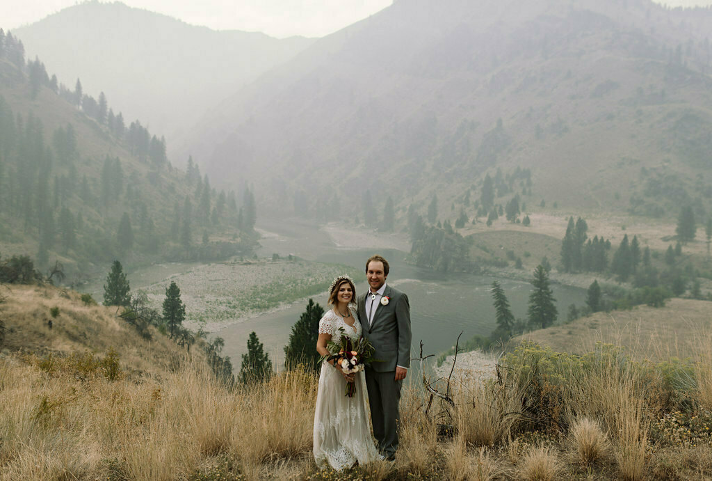 real-dreamers-and-lovers-bride-beth-wearing-the-azalea-lace-dress-at-her-river-wedding