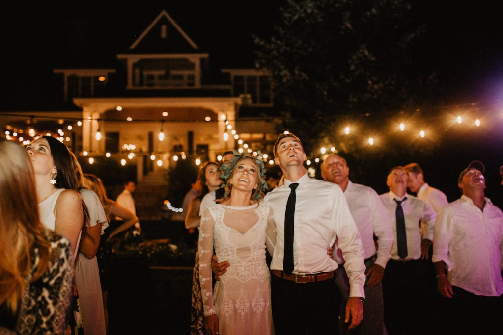 this-boho-wedding-had-the-most-epic-fireworks-show-what-a-sendoff-bohemian-inspiration