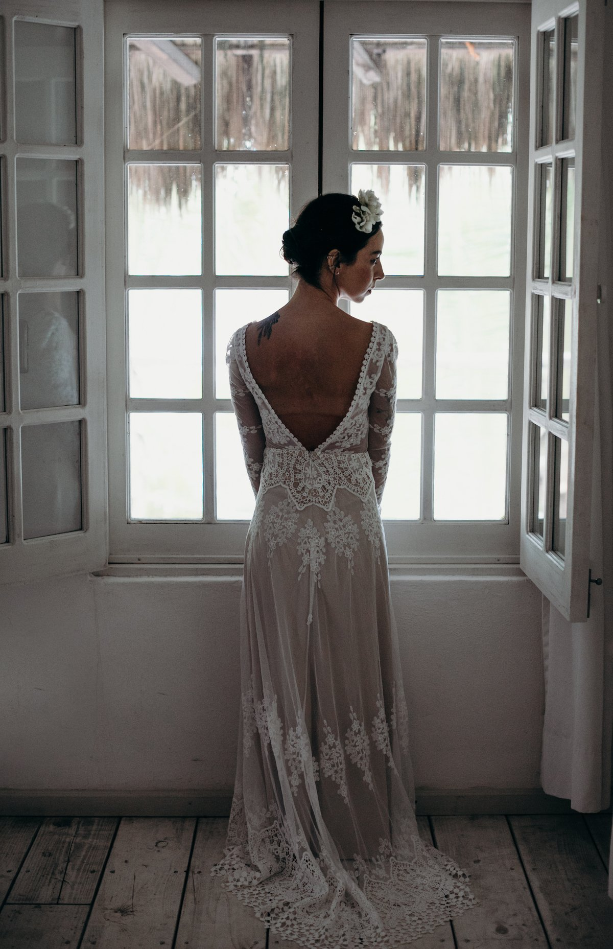 What Goes Through a Boho Bride's Mind on Her Wedding Day