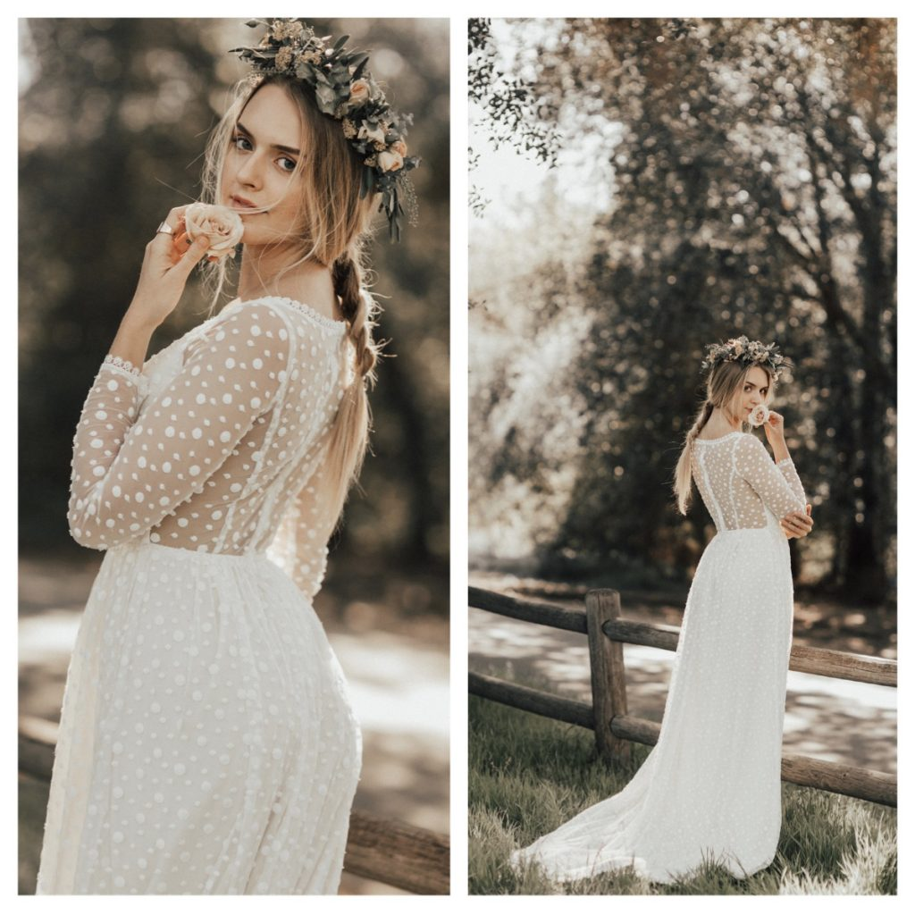 e9c05b041c romantic-long-sleeves-boho-wimple-wedding-dresses-with-