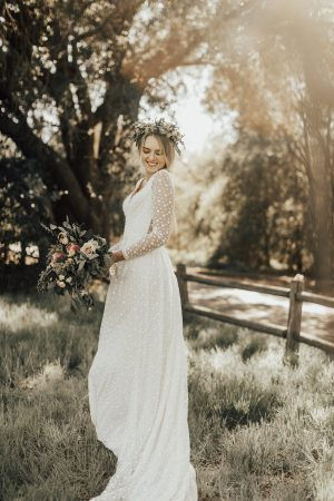 audrey-long-sleeves-dotted-cotton-lace-boho-wedding-dress-plunge-v-neckline