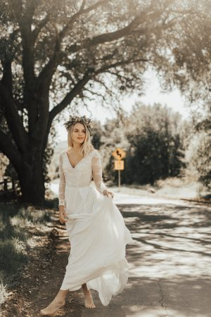 simple-wedding-dress-with-long-sleeves-sheer-open-back-v-neckline-bohemian-bride