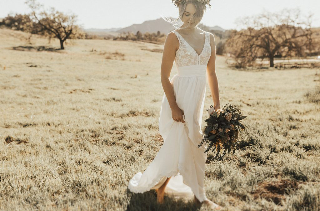 Lumina - Boho Simple Wedding Dresses | Dreamers and Lovers