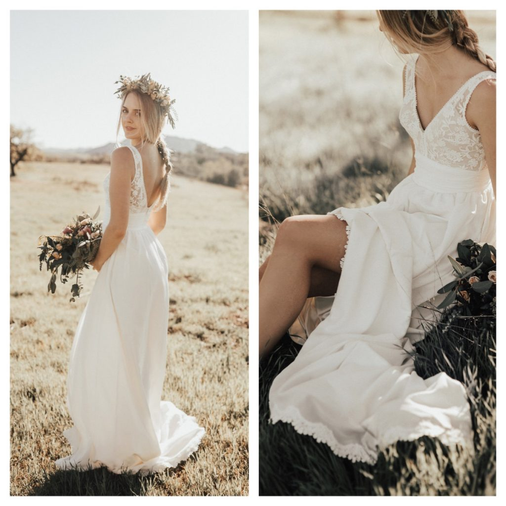 Romantic Weddings Simple: Lumina - Boho Simple Wedding Dresses