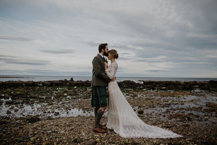 Ruth & Neil's Scottish Woodland Wonderland Bohemian Wedding