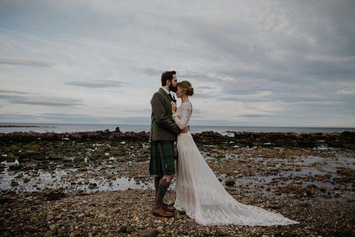 Ruth & Neil's Scottish Woodland Wonderland Bohemian Wedding
