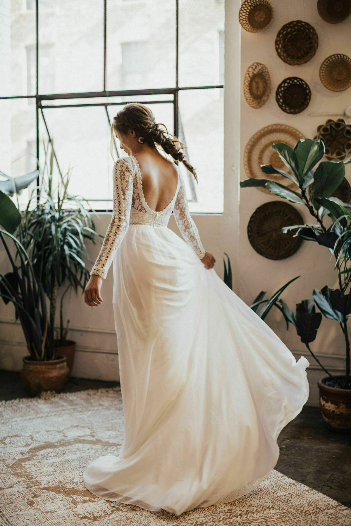 ines-billowy-silk-lace-wedding-dress