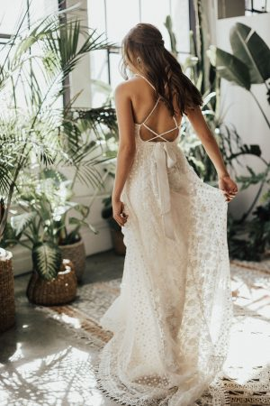 Becca-backless-lace-wedding-dress-with-full-skirt-and-pockets