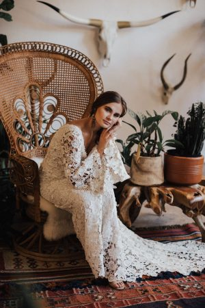 Dreamers-and-Lovers-boho-bell-sleeves-crochet-wedding-dress