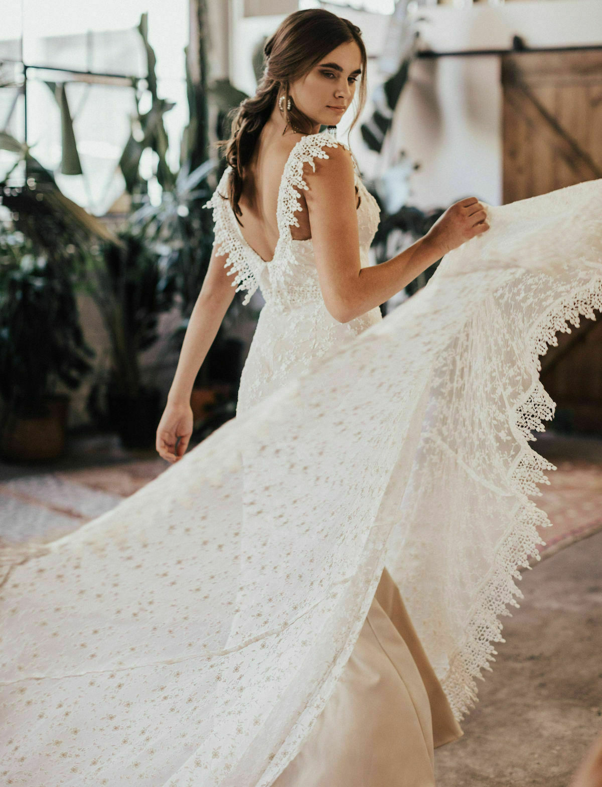 Discovertheperlasimpleweddingdresscraftedfrom: Simple Cotton Lace Wedding Dress At Reisefeber.org
