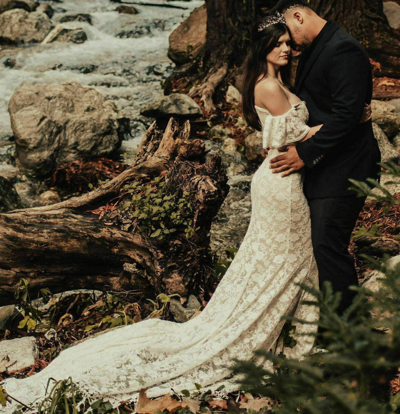 callista-off-shoulder-bohemian-wedding-gown-fringe-hem