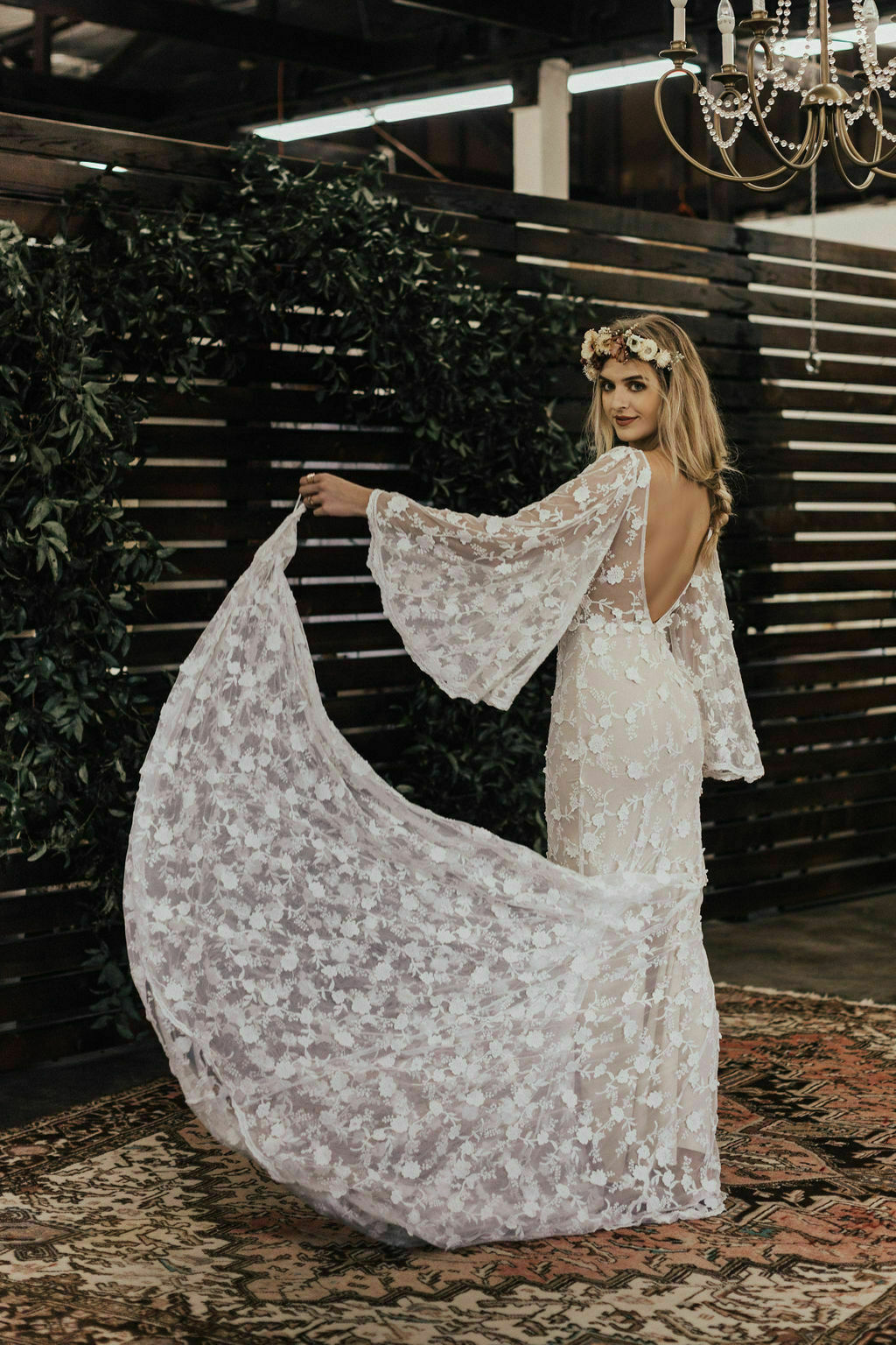 Samantha-angel-sleeves-boho-chic-abgel-sleeves-wedding-dress