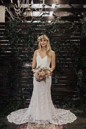 Dreamers-and-Lovers=Tatum-Sleeveless-Lace-wedding-Dress-fitted-silhouette-and-done-with-3D-lace
