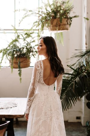 Simone-low-back-lace-wedding-dress-with-full-skirt