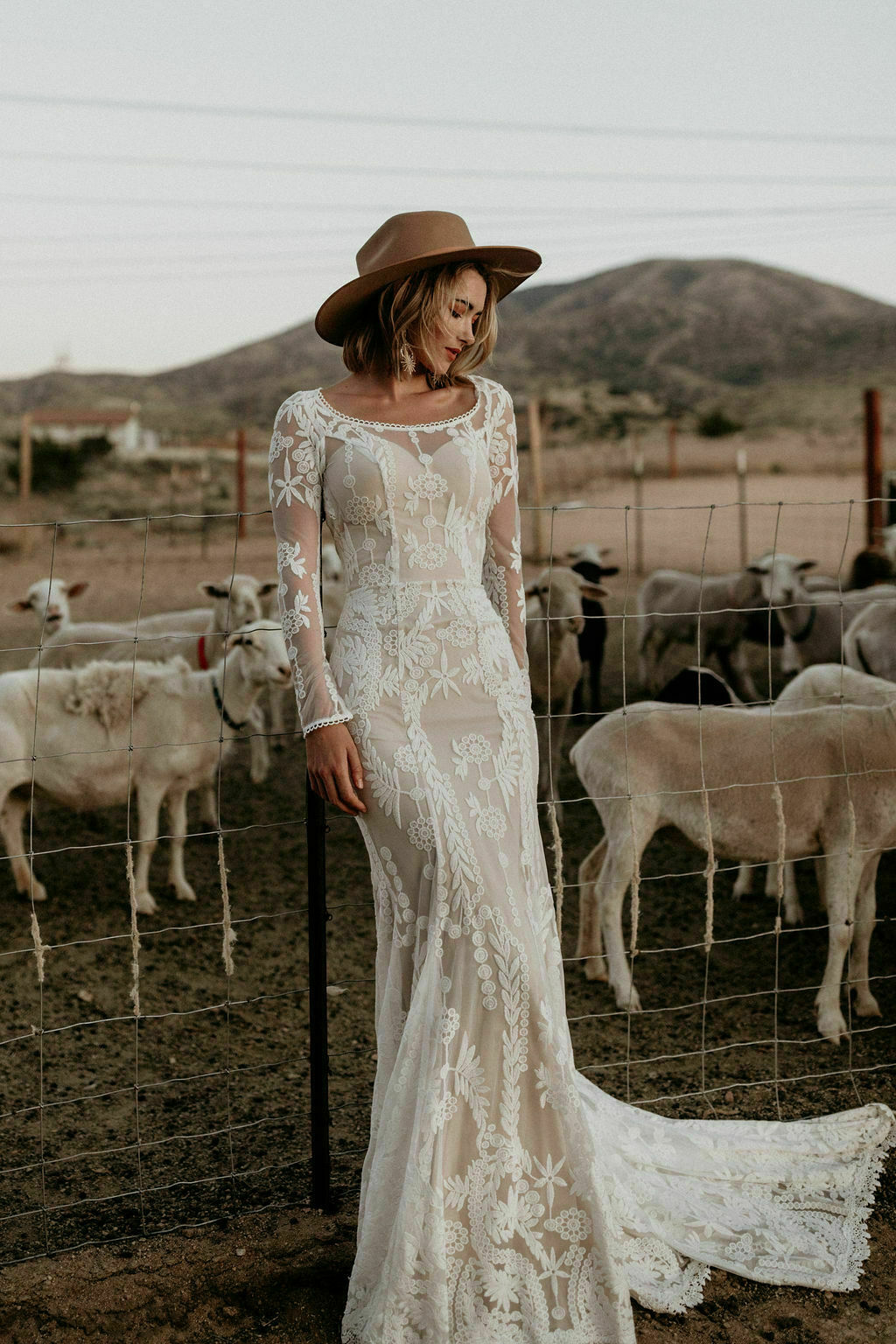 Willow Lace Wedding Dress