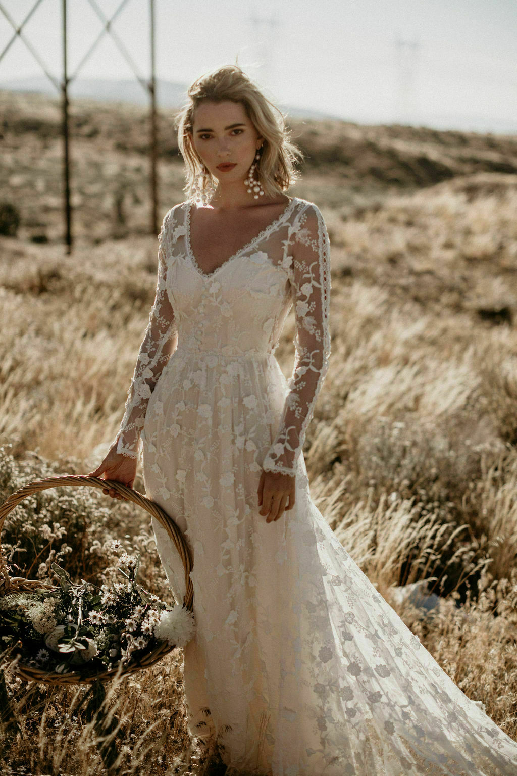 Zinnia Lace Wedding Dress