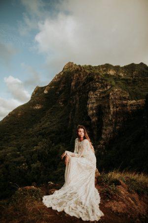 dream-bohemian-wedding-dress-high-neck-and-full-skirt