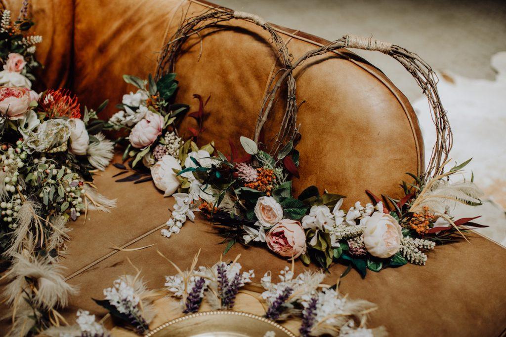 Bohemian-Bridesmaid-Halo-Wreaths-at-Condor's-Nest-Ranch