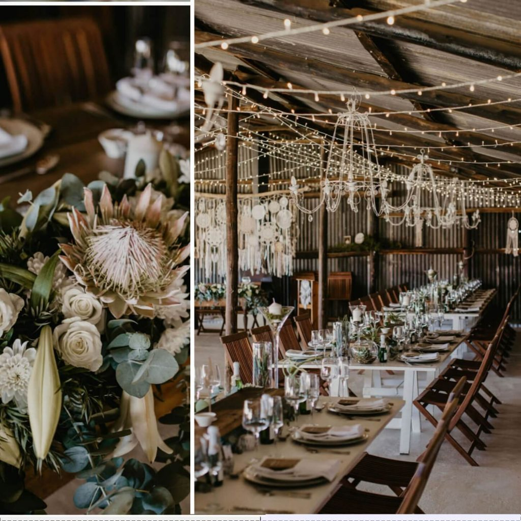bohemian wedding in South Africa
