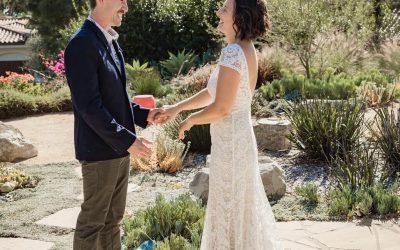 A Stress-Free Intimate Backyard Wedding in California