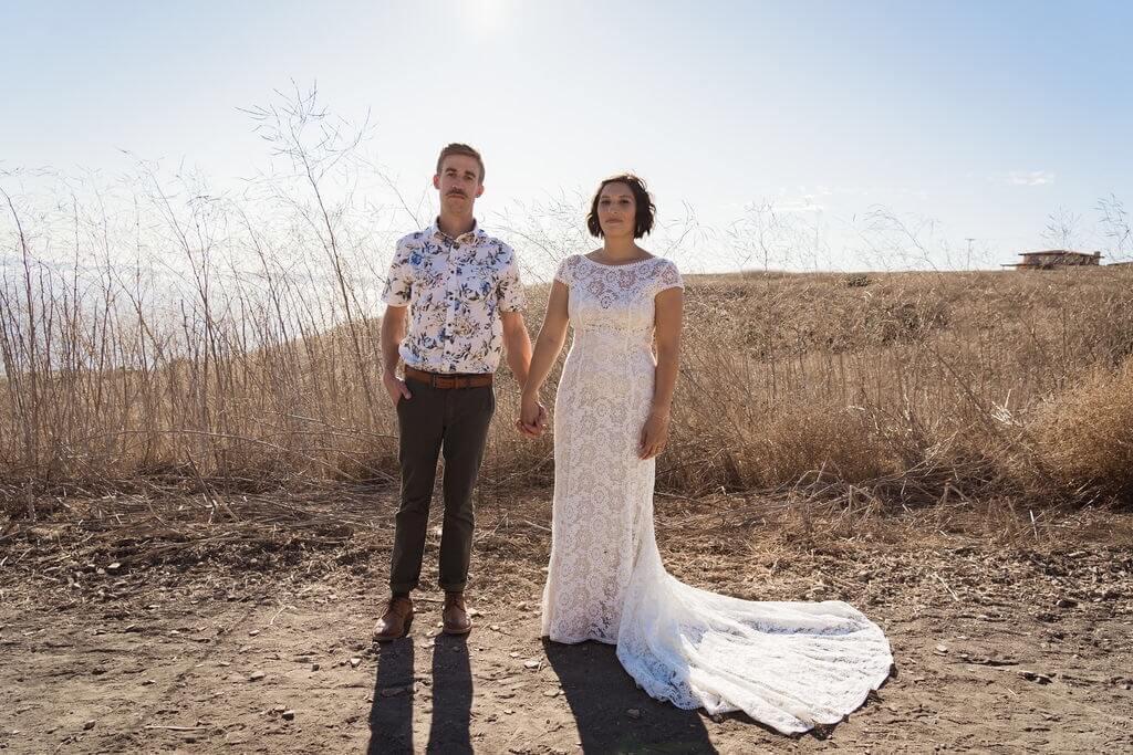 Bride Emily in California in Backyard Wedding Ideas