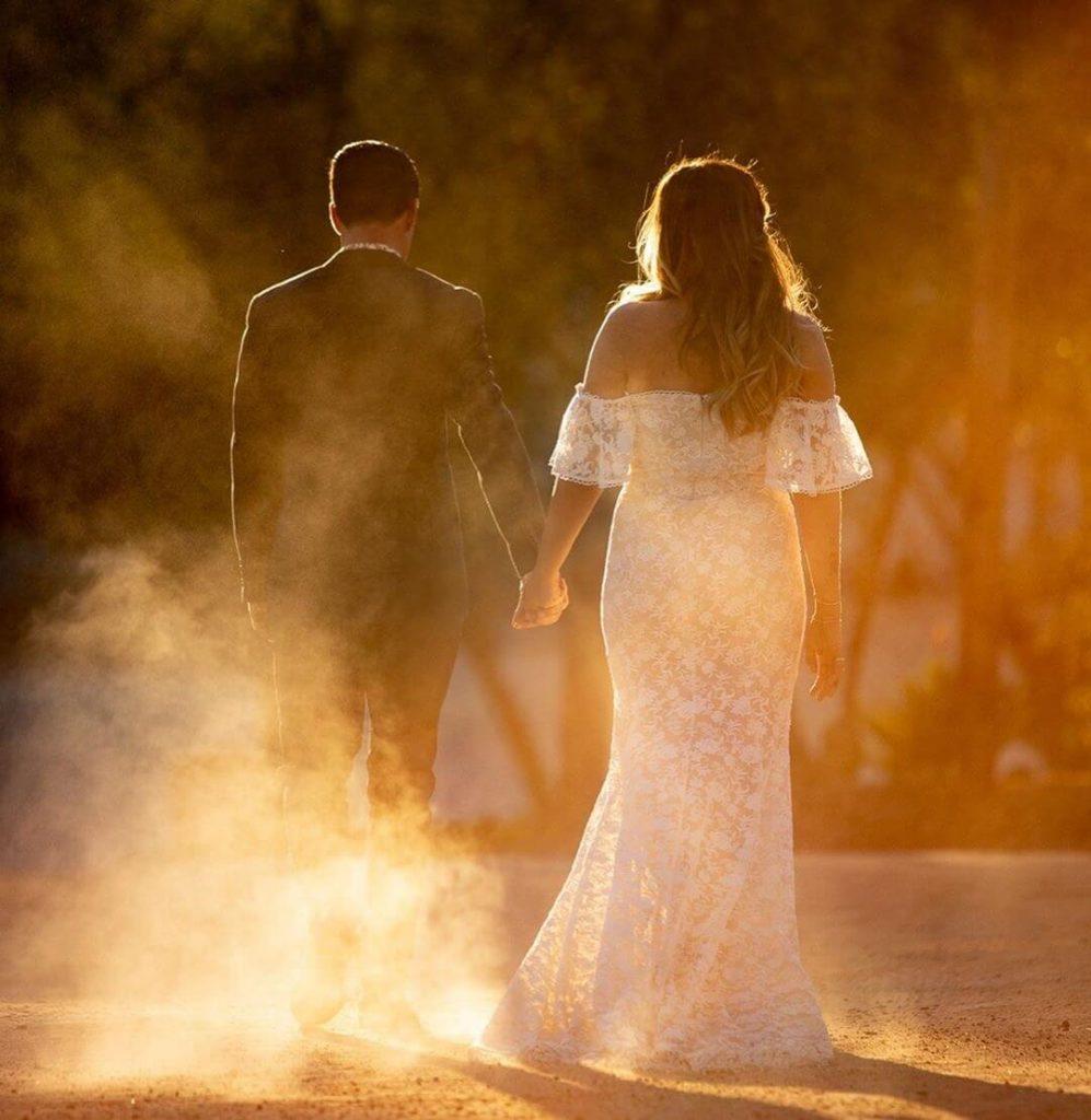 A romantic wedding at Leo Carrillo Ranch in California